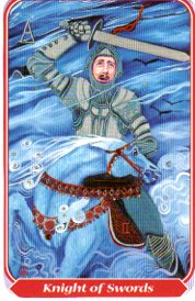 spiral tarot knight of swords