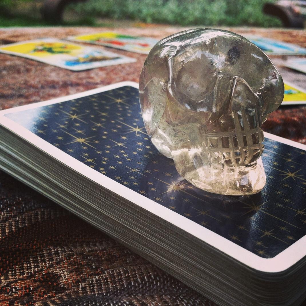 Darker Skull Tarot Deck