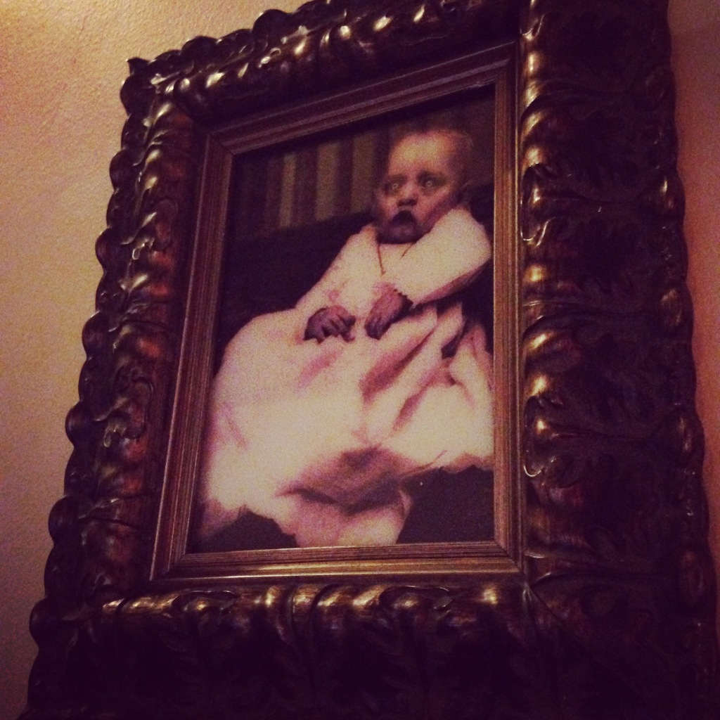 My family tree is packed with creepy, possessed infants...