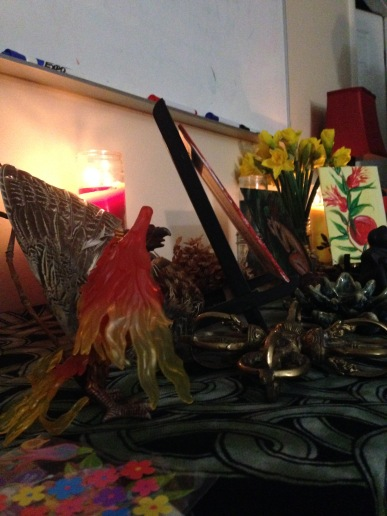 Reclaiming Pittsburgh Spring Equinox Altar