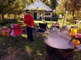 Stirring, stirring, stirring...